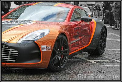 Aston Martin One-77 gumball 3000